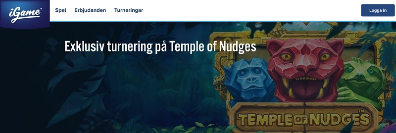 Temple of Nudges-turnering med 50.000 kr i prispott