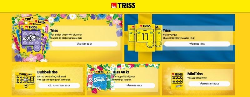 Så enkelt spelar du Triss på nätet
