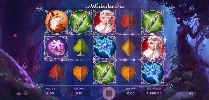 Wilderland - Ny spelautomat från NetEnt