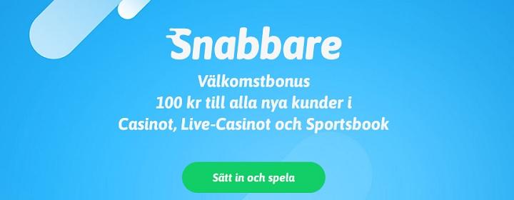 Snabbare bonus - 100 kr gratis